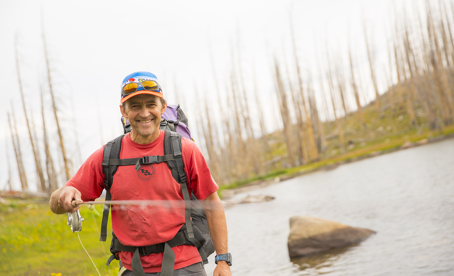 """After college I wanted to fish more, and have better weather and bigger mountains."""