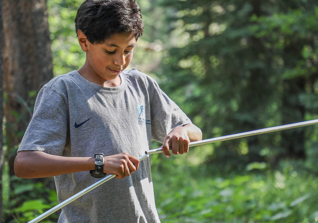 SOS programs aim to give youth the opportunity to learn about and enjoy outdoor adventure sports, like backpacking, that they may not otherwise be introduced to.