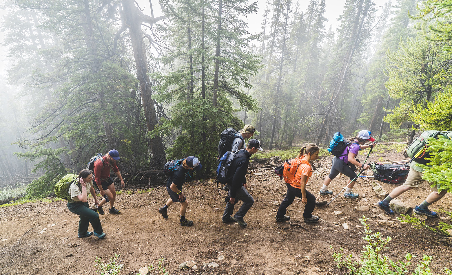 It's best to start your summit hike early in the morning to avoid afternoon lightning storms.