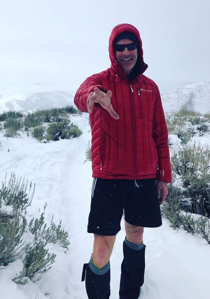 Mark Pattison knows a thing or two about toughness (and fashion). Training for an Antarctic expedition, Mark prepares himself for the constant below-freezing temperatures in style.