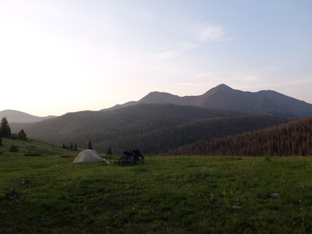 Big Agnes Outside 365 Colorado Trail Alfords Bikepacking Day 1